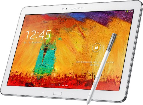 Galaxy Tab 2014 Edition 3 (Samsung Galaxy Note 10.1 p605 2014 Edition Tablet (25,7 cm (10,1 Zoll) Touchscreen, 3GB RAM, 8 Megapixel Kamera, 16 GB interner Speicher, LTE, Android 4.3) weiß)