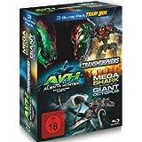 3 Blu-ray Trash Box : Transmorphers - Alien Vs Hunter - Mega Shark Vs Giant Octopus