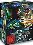 3 Blu-ray Trash Box : Transmorphers - Alien Vs Hunter - Mega Shark Vs Giant Octopus [3 DVDs]