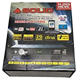 SOLID HDS2-6141PRO HEVC H.265 DVB-S2 / MPEG-4 Full HD Set-Top Box with Free