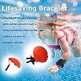 SnorkelQ Tragbares Schwimmendes Armband tragbares Gerät Leichter Wasserauftrieb am Kinderarmband