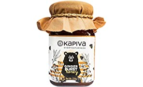 Kapiva 100% Natural Ginger Burst Honey - Helps Boost Immunity, Aids Weight Loss and Improves Digestion - 250gm