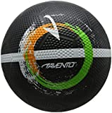 Avento Street Football Black / White / Fluor Green / Fluor Orange, dimensione:5