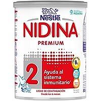 Nestlé Nidina 2 Premium, Leche de continuación para bebé - 800 gr.