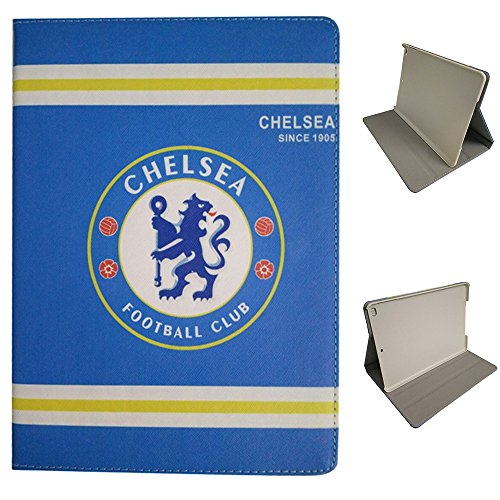 iPad 2 Etui,iPad 3 Etui,iPad 4 Etui, UK-Cherry Real Madrid Barcelona Chelsea Manchester United AC Milan Liverpool Arsenal Football Team-Team-Logo Hülle Abdeckung Aus Synthetischem PU Leder Mit Unterstützung für Apple iPad 2 3 4 ( Chelsea ) (Manchester United Ipad)