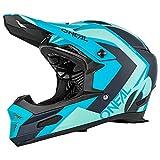 O'Neal Fury RL Hybrid Fahrrad Downhill Helm Action Cam Mount Halterung FR MTB Mountain Bike Fullface, 0499-H, Farbe Petrol, Größe M