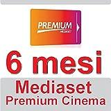 TESSERA CINEMA PREPAGATA 6 MESI DI VISIONE CINEMA E SERE TV MEDIASET PRMIUM