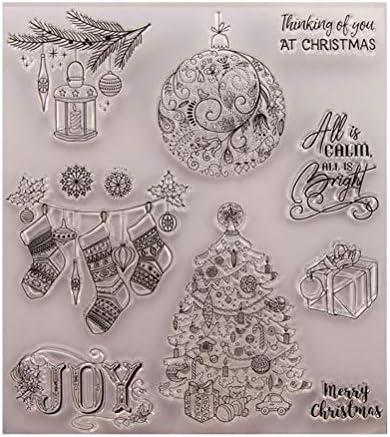BESTOYARD Timbres de Sceau Transparent Transparent Transparent de Noël pour Bricolage Scrapbooking Artisanat Carte Album Photo Décoration B07JDXH3KQ da5f56
