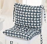 DADAO Zurück Kissen,Rückenstütze rückenkissen mit für unteren rücken schmerzlinderung Bürostuhl,Autositz,Sessel etc.-A 40 * 45 * 40cm(16x18x16inch)