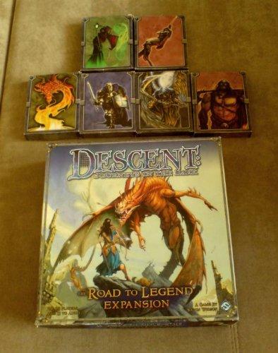 Fantasy Flight Games VA41 - Descent: Road to Legend Expansion, englische Ausgabe