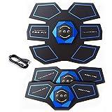 XLBHD USB Rechargeable EMS Stimulateur Musculaire Abdominal Muscle Trainer Exerciser Corps Électrique Shaping Minceur Massager pour Femme