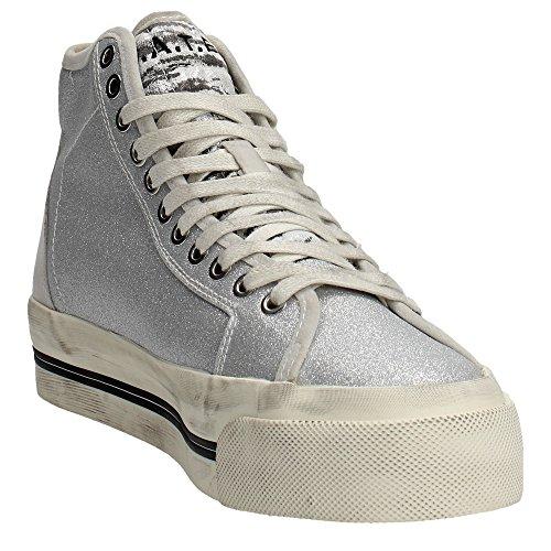 D.a.t.e. ROCKET Sneakers Femme Argent