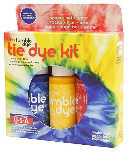SEI au sèche-linge Colorant Craft et tissu Motif Tie-Dye Kit de 2oz 3kg-primary