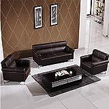 XINTONGDA Ledersofa Retro American Sofa Wohnzimmermöbel Einfache Moderne Sofa Schnittsofa,3