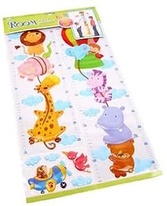 Stickers TOISE PLASTIQUE ANIMAUX chambre/enfant/deco