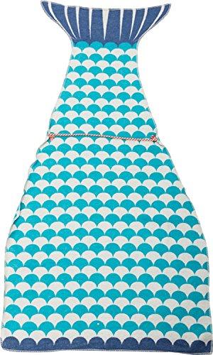 Fussenegger Kuschelsack Baumwollmischung blau/weiß