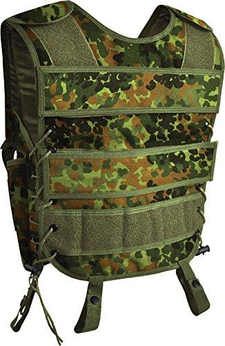 normani BW Taktische Einsatzweste mit Pistolenholster und vielen Taschen Größe XL/XXL