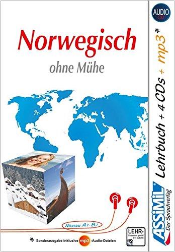 ASSiMiL Norwegisch ohne Mühe - Audio-Plus-Sprachkurs: Selbstlernkurs für Deutschsprechende  - Lehrbuch (Niveau A1-B2) + 4 Audio-CDs + 1 mp3-CD