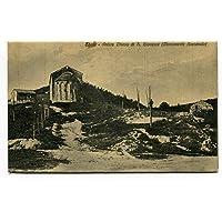 1934 Eboli Antica Chiesa di S.Giovanni Guller Salerno Frosinone FP B/N VG ANIM Cartolina Postale - Antichi Da Collezione Delle Fotografie
