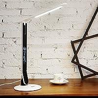 Lámpara De Escritorio Led Con Calendario, Temperatura, Tiempo, Dormitorio ( Color : A )
