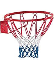 Elk Power Nylon Heavy Duty Professional Basketball Ring with Net & Screw/Bolts Ring Size 7