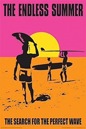 Endless Summer Perfect Wave Poster Drucken (60,96 x 91,44 cm) (Drucken Endless Summer)