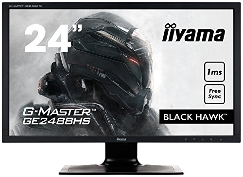 Iiyama G-MASTER Black Hawk 24-Inch 1920 x 1080 Full HD LED Monitor - Black