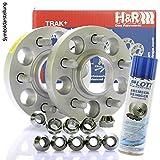 Original H&R DRM Spurplatten Spurverbreiterung Distanzscheibe MZ Ø67,1 5x114,3 // 2x15mm + Bremsenreiniger