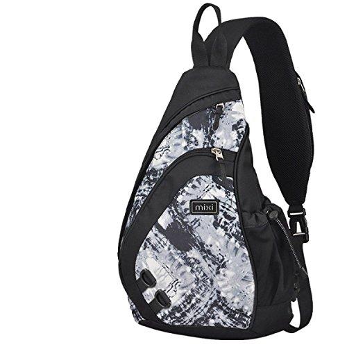 Brustbeutel Herren Umhängetasche Herren Freizeittasche Umhängetasche Sporttasche Wassertropfen Tasche Dreieck Tasche Umhängetasche A