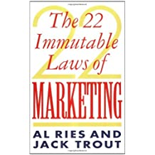 By Al Ries The 22 Immutable Laws Of Marketing