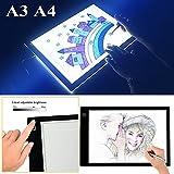 A3 A4 LED Grafiktablett Lightbox Touchpad Bleistift Skizze Animation (A4)