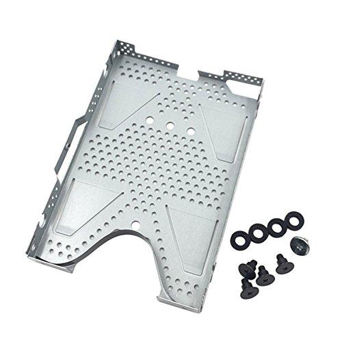 Janjunsi Ersatz HDD Festplatte Schutzhülle Cage Mit Schrauben für PS4 Slim Konsole (Tray Cage)