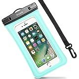Housse Étanche Certifié IPX8, Simpeak Universelle Pochette téléphone étanche Waterproof, Housse Etui Etanche (5,8 Pouces) Crystal Clear pour Apple iPhone 7/ 7 Plus, iPhone 6/ 6S/ 6S Plus, iPhone SE/ 5S/ 5/ 5C, Suamsung Galaxy J3/ J5/ J7/ A3/ A5/ S7/ S7 Edge/S6/S6 Edge/Note 4, Huawei P8/P8 Lite/P9/P9 Lite Smartphones - Vert