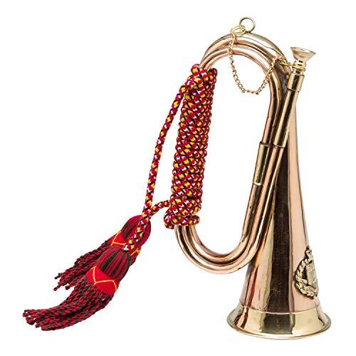 Trompete aus Kupfer und Messing kontinuierliche Jagdreiten Englisch