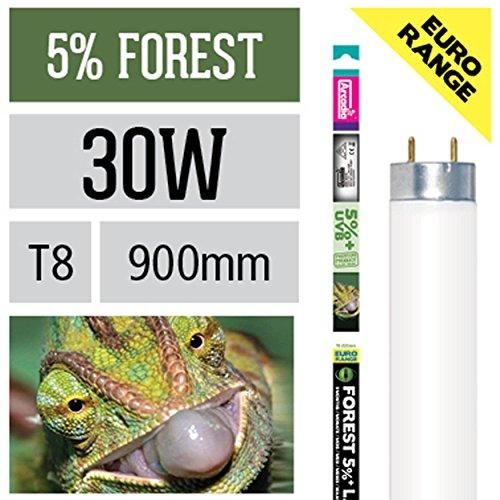 Arcadia 30 Watt D3+ Reptile Forest Lampe 5% UV-B