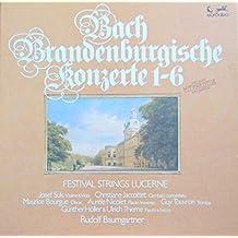 Bach: Brandenburgische Konzerte 1-6 (mit Partitur/with Score) [Vinyl Schallplatte] [3 LP Box-Set]
