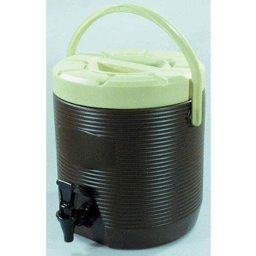 WAS 3752120 Getränkebehälter 12 l, braun, innen CNS