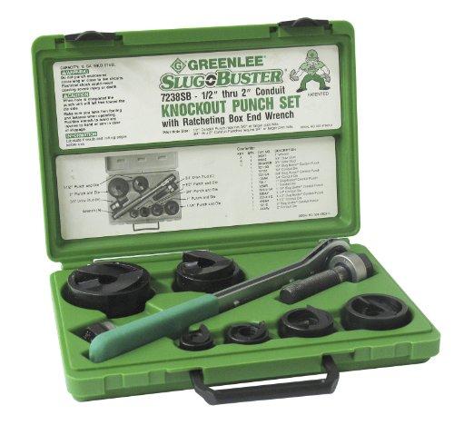 Greenlee 7238sb slug-buster Knockout Kit mit Ratschenschlüssel (Greenlee-cutter)