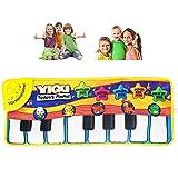 WDXIN Kinder Musik Matte Multifunktional Sicher und lustig Tastaturdecke Geeignet für Babys über 3 Monate