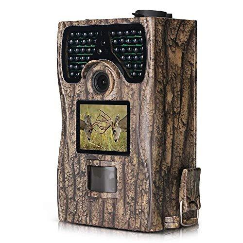 SuRose Jagdkamera, HC500M 16MP MMS GSM SMS GPRS Scouting-Gerät mit Nachtsichtgerät Wildlife Scouting-Kamera, Nachtsichtgerät