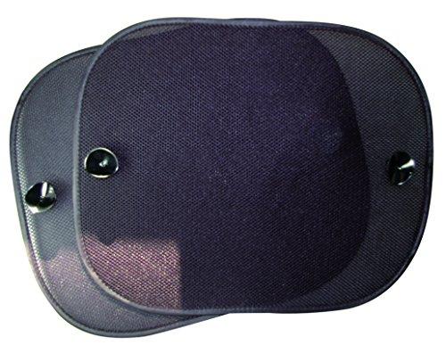 OK Cars AZSAA204 UV-Sonnenschutz für Seitenscheiben, 37 x 43.5 cm, 2er-Set
