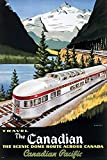 empireposter - Vintage Transport - The Scenic Dome Route, Canada - Größe (cm), ca. 61x91,5 - Poster, NEU -