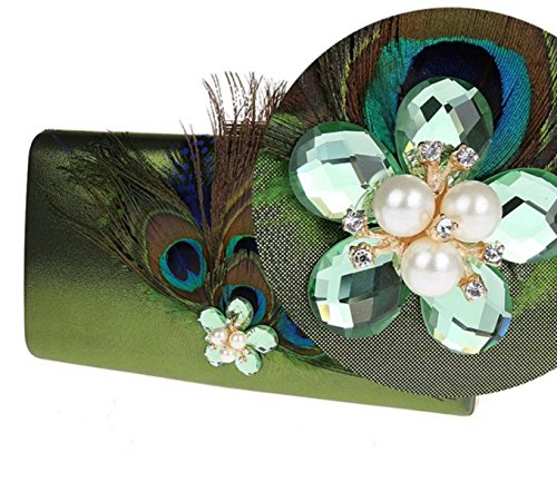 Peacock Sac à Bandoulière En Toile Ouverte green