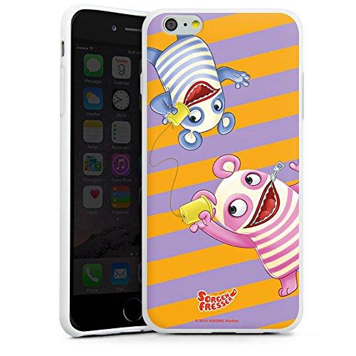 Apple iPhone X Silikon Hülle Case Schutzhülle Sorgenfresser Betti & Bill Fanartikel Merchandise Silikon Case weiß