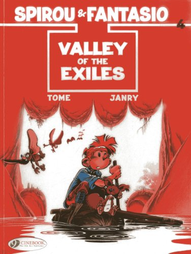 Spirou & Fantasio - tome 4 Valley of the Exiles (04)