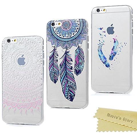 Coque iPhone 6 / iPhone 6S Mavis's Diary Housse étui de Protection TPU Silicone Souple Gel Bumper Coque Phone Case Cover 4.7