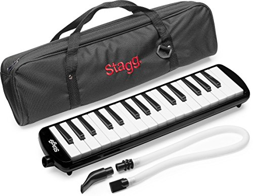 Stagg Melodica 32 Schwarz - inkl. Tasche