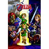 Zelda Ocarina of Time–Póster de 24x 36