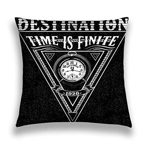 rgthjuk Kissenbezüge Throw Pillow Cover Pillowcase cool Awesome Slogan Typography Fashion Style Sofa Home Decorative Cushion Case 18