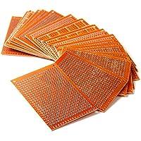 LAOMAO 20PCS 5CM x 7CM DIY Prototype Paper PCB Circuit Board Universal Breadboard
